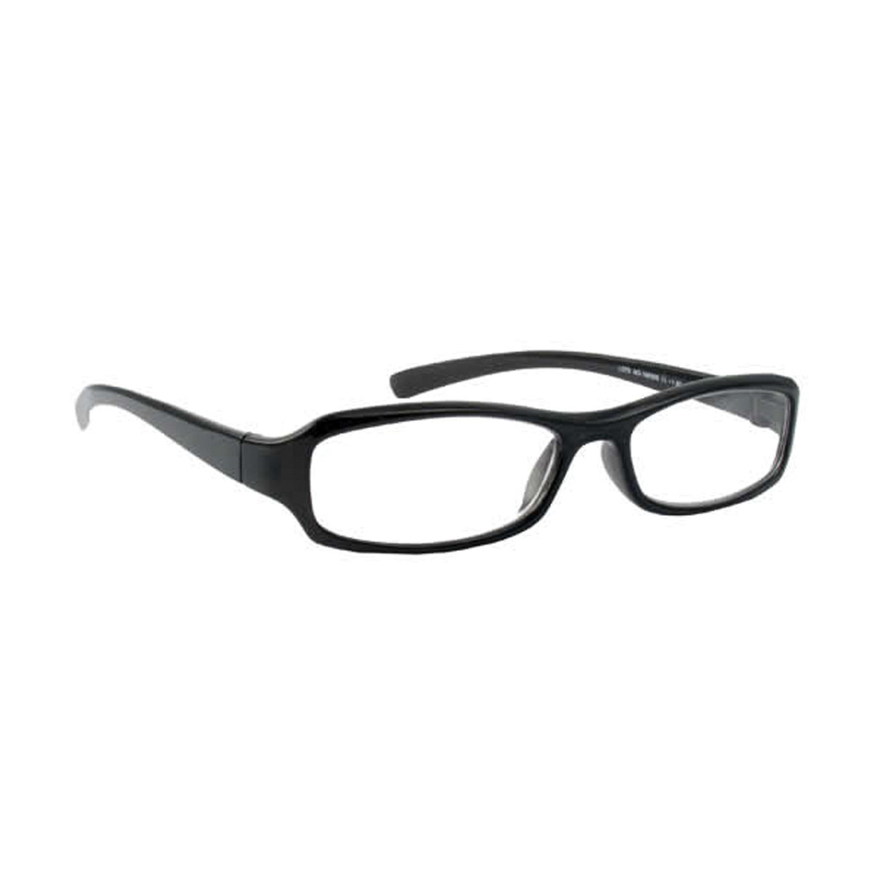 +5.00 Deluxe Reading Glasses W/Black Frame