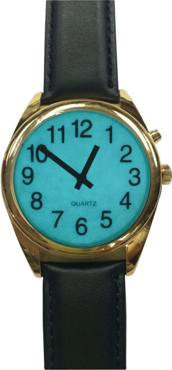 Low Vision Watch with Night Light