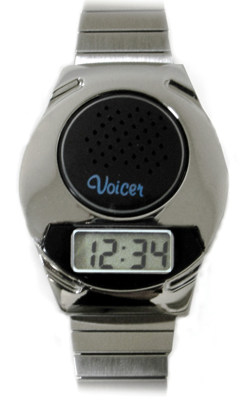Digital Talking Watch With Front Speaker