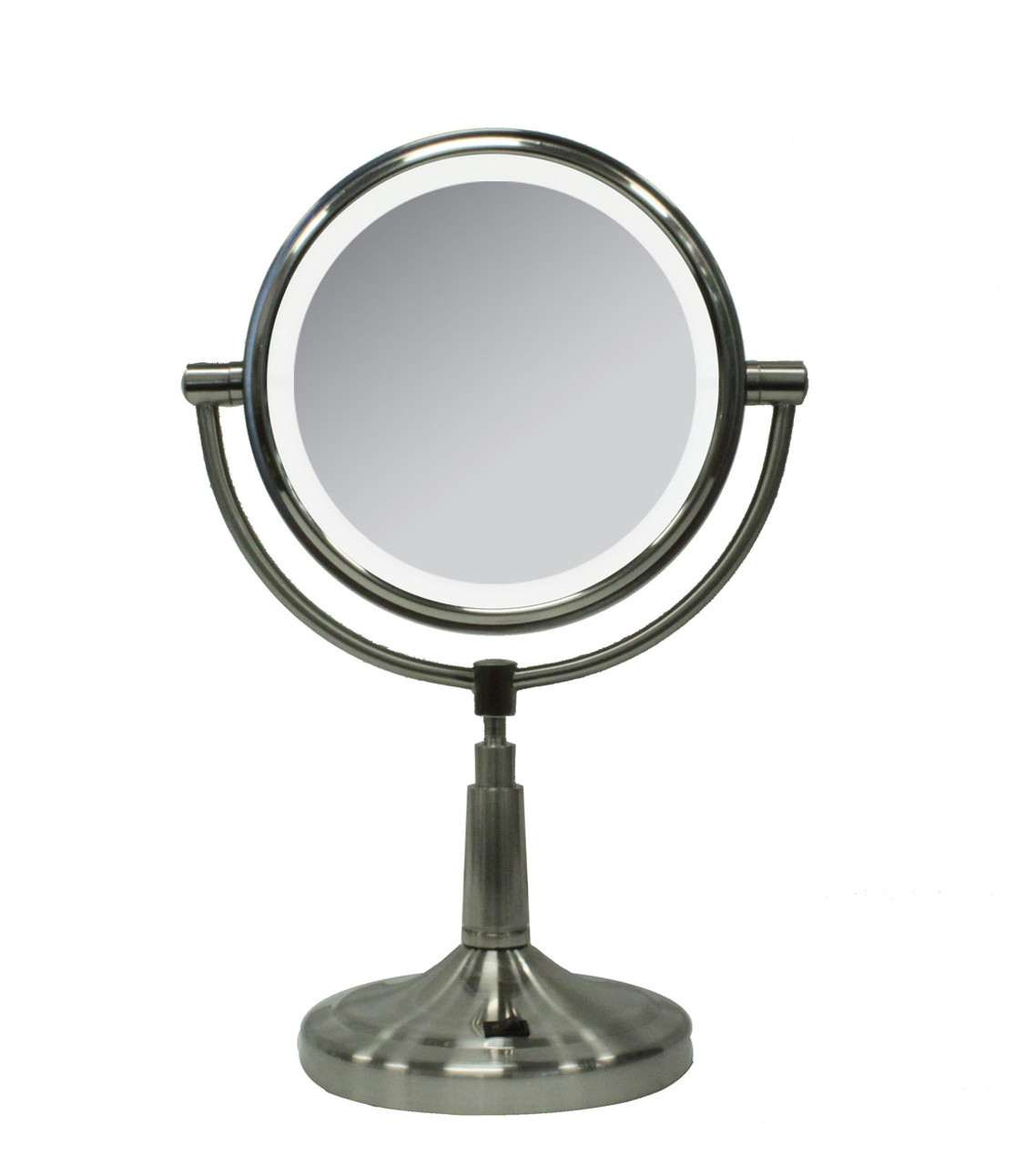 "10X/1X Cordless LED 7"" Mirror"