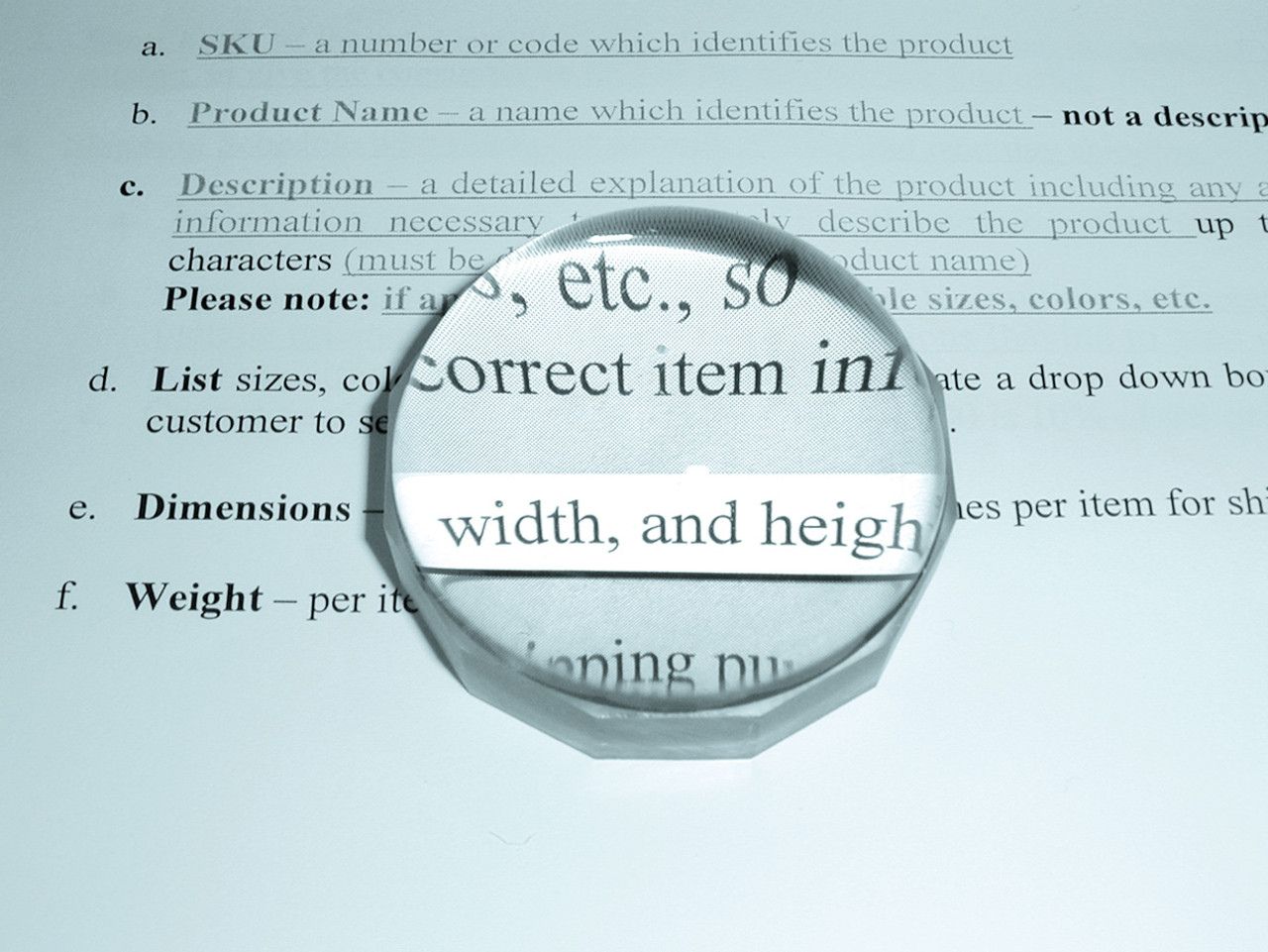"""1.7X COIL Visual Tracking Magnifier, 2"""" Round Clear Frame"""