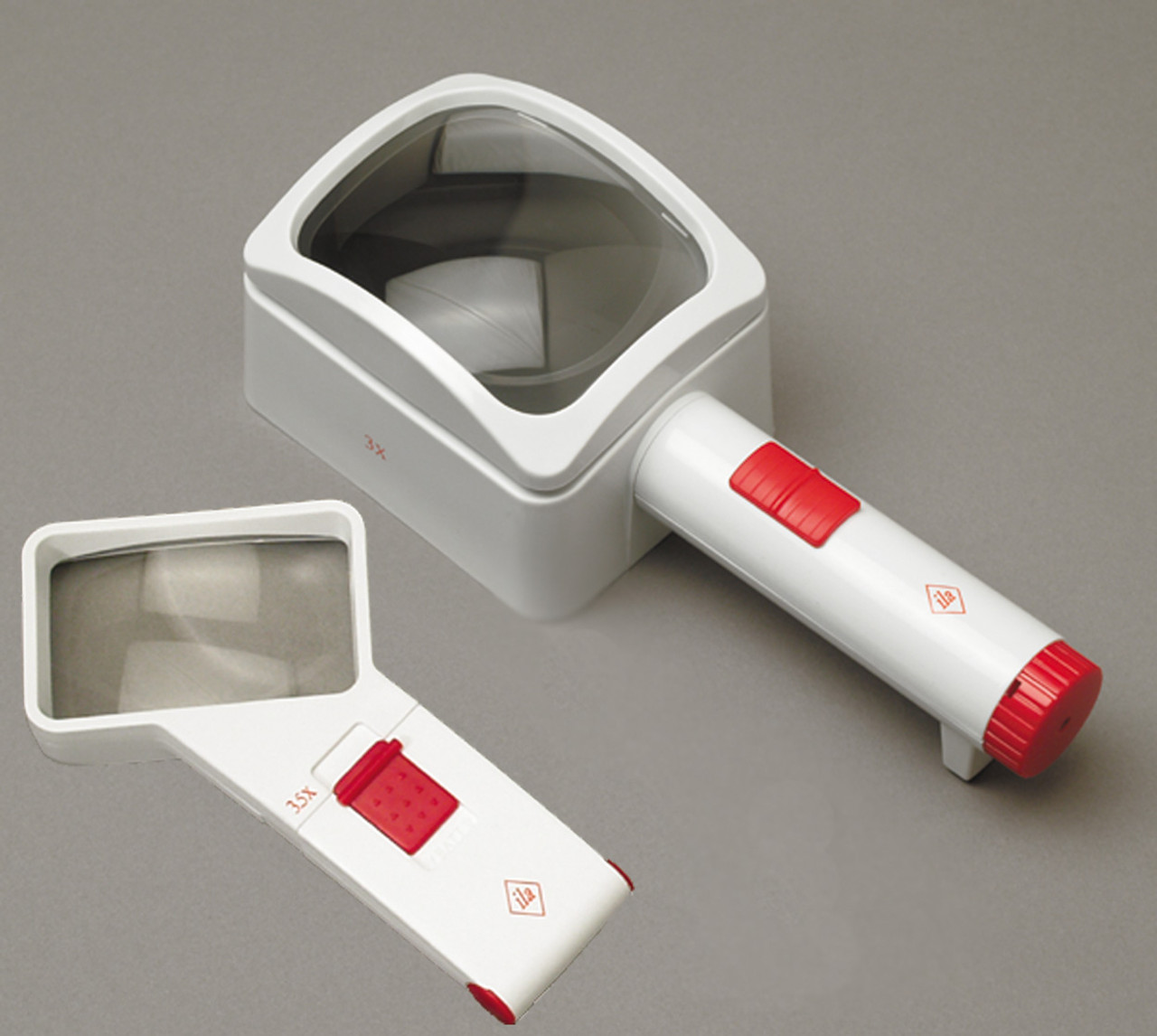 3X ila Stand & 3.5X Hand Held LED Magnifiers