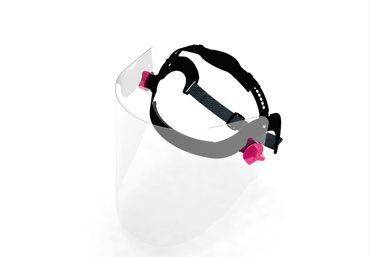 Professional Grade Face Shield with Replaceable Visor