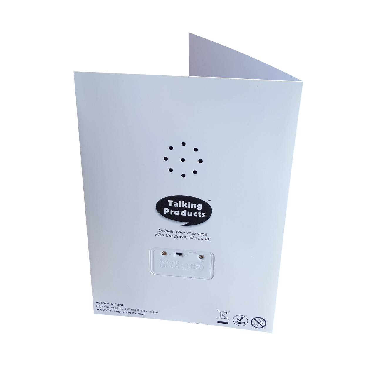 Self Recordable Greeting Card
