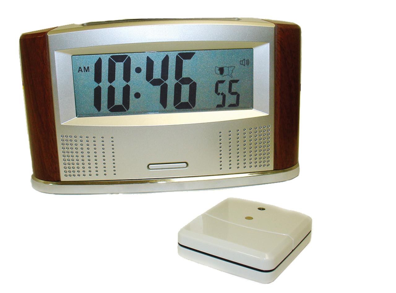 ILA Atomic Talking Clock & Outdoor Thermometer