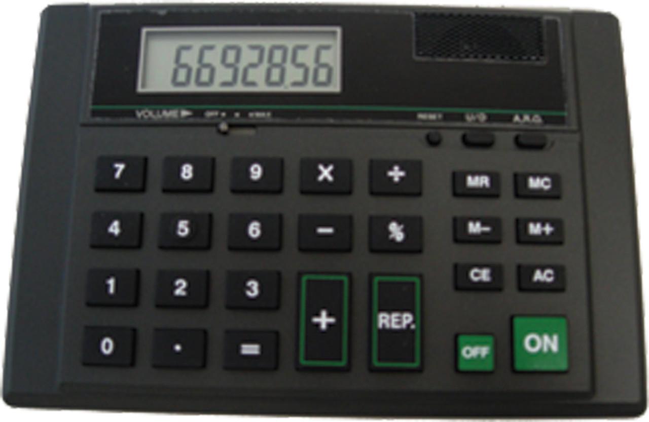Talking Calculator with Earphone Jack