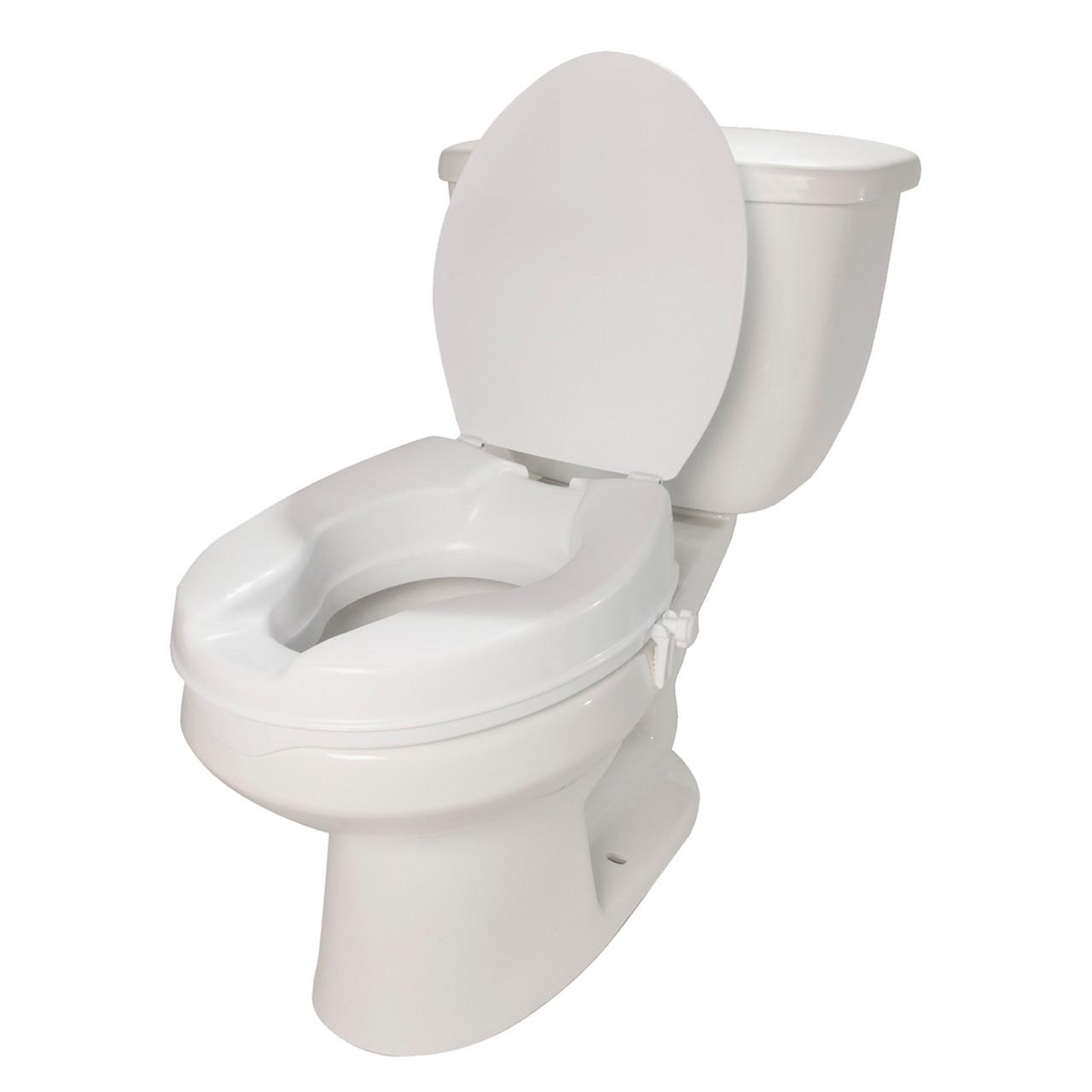 Raised Toilet Seat 4 w/ Lid