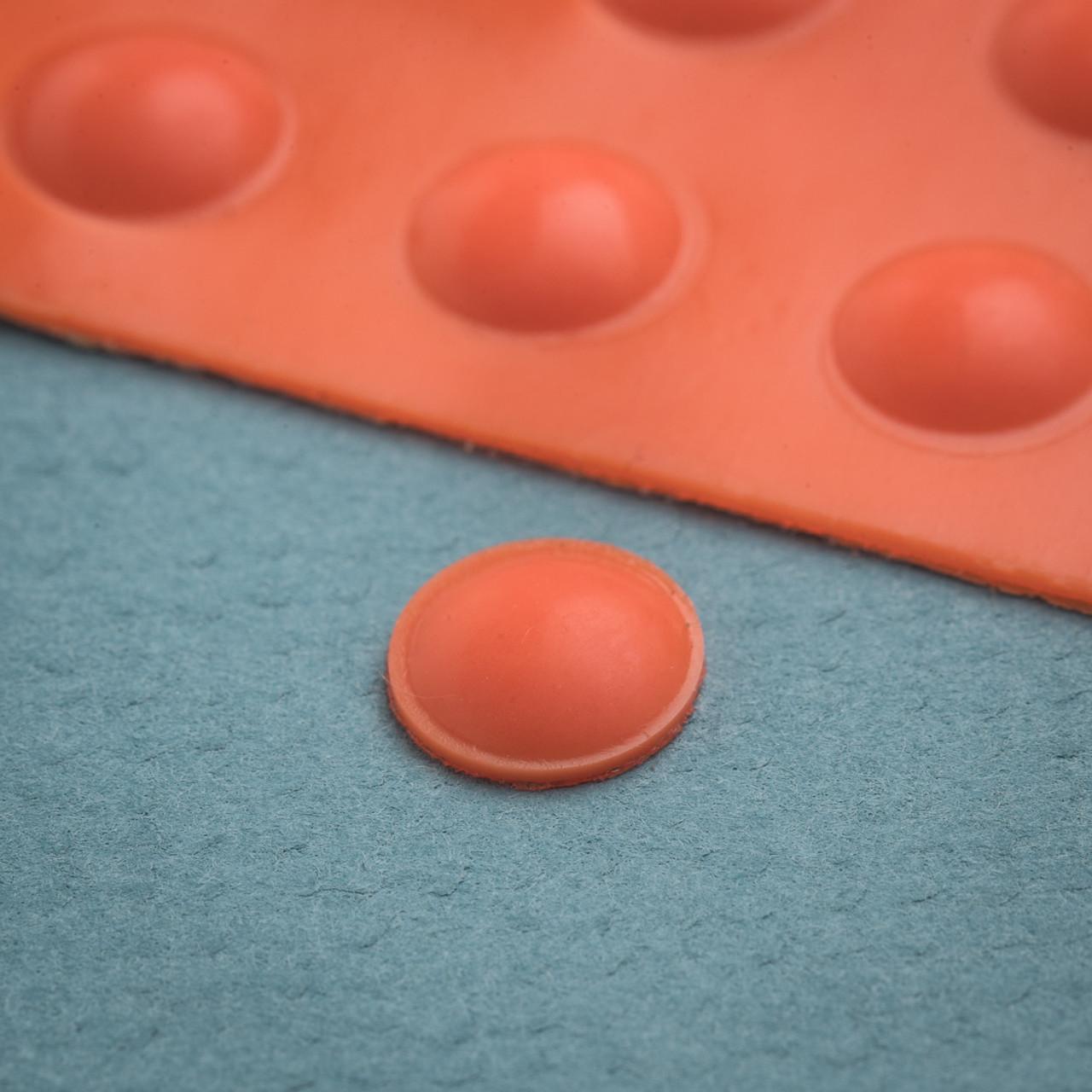 CAN-DO Bumps-25 Small Orange Round
