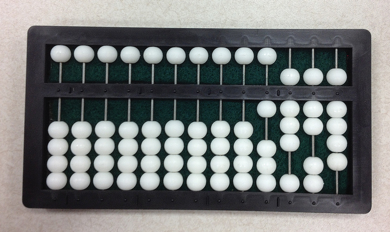 Mathematical Abacus - 13 Rows