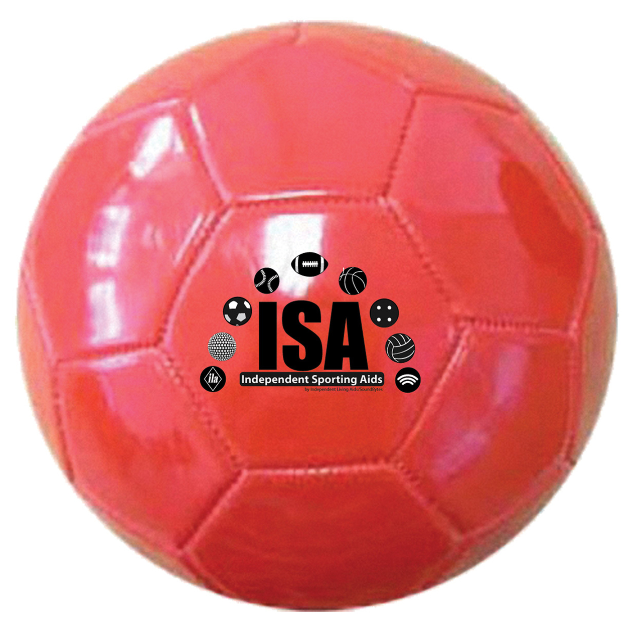 ISA Small 5.5 Soccer Ball with Bells