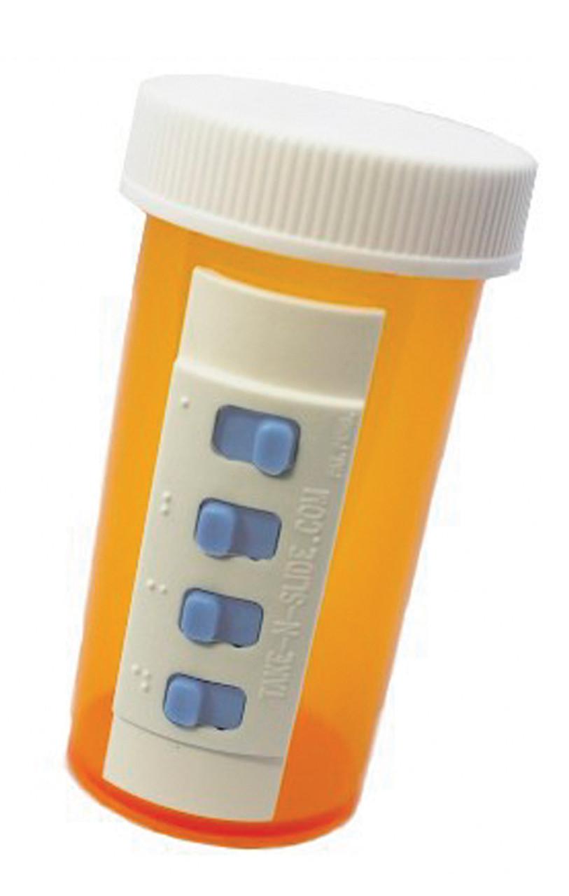 Take-N-Slide Pill Taking Security System