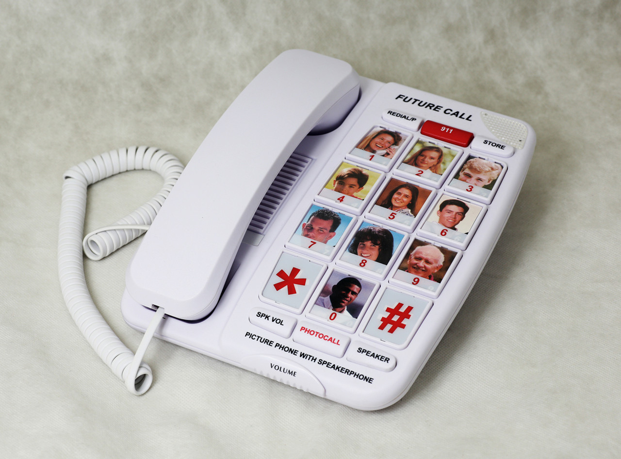 Amplified Corded Telephone by Future Call