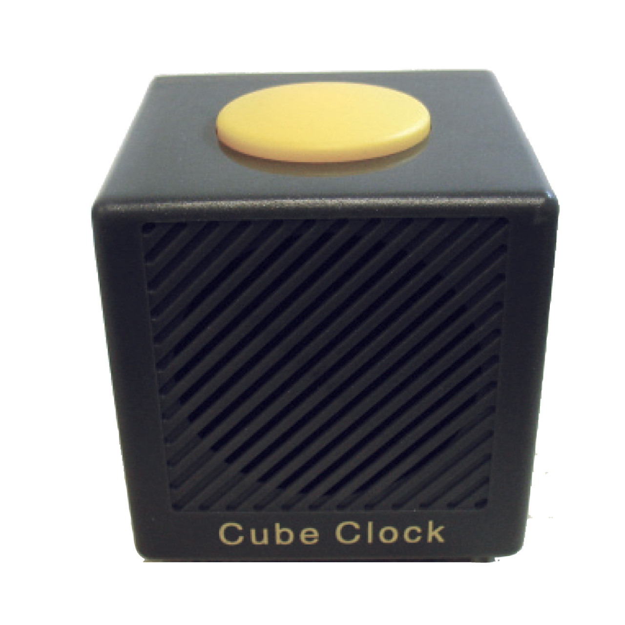 CAN-CAN Talking Cube Clock Gray/Yellow