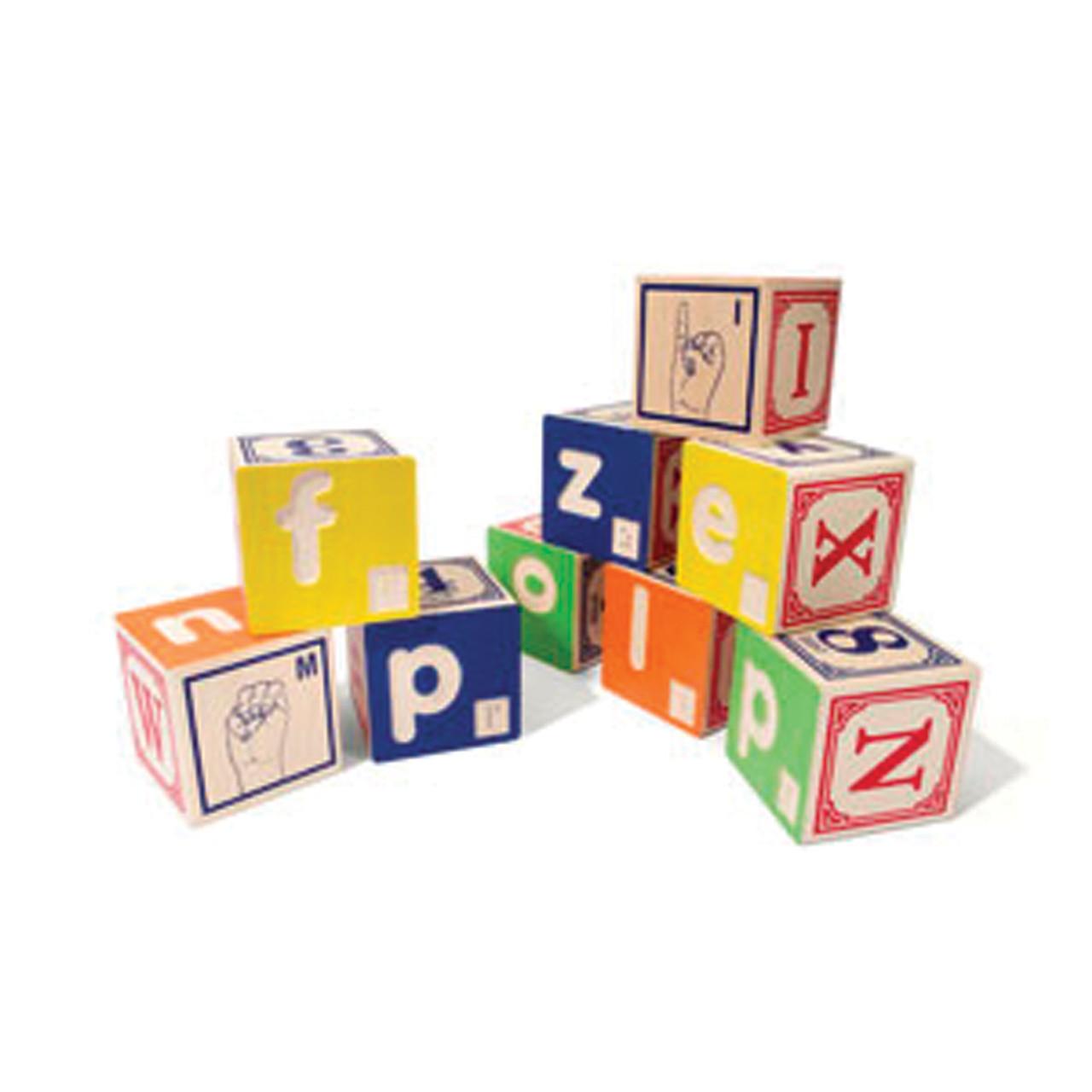 Braille ABC Wooden Blocks
