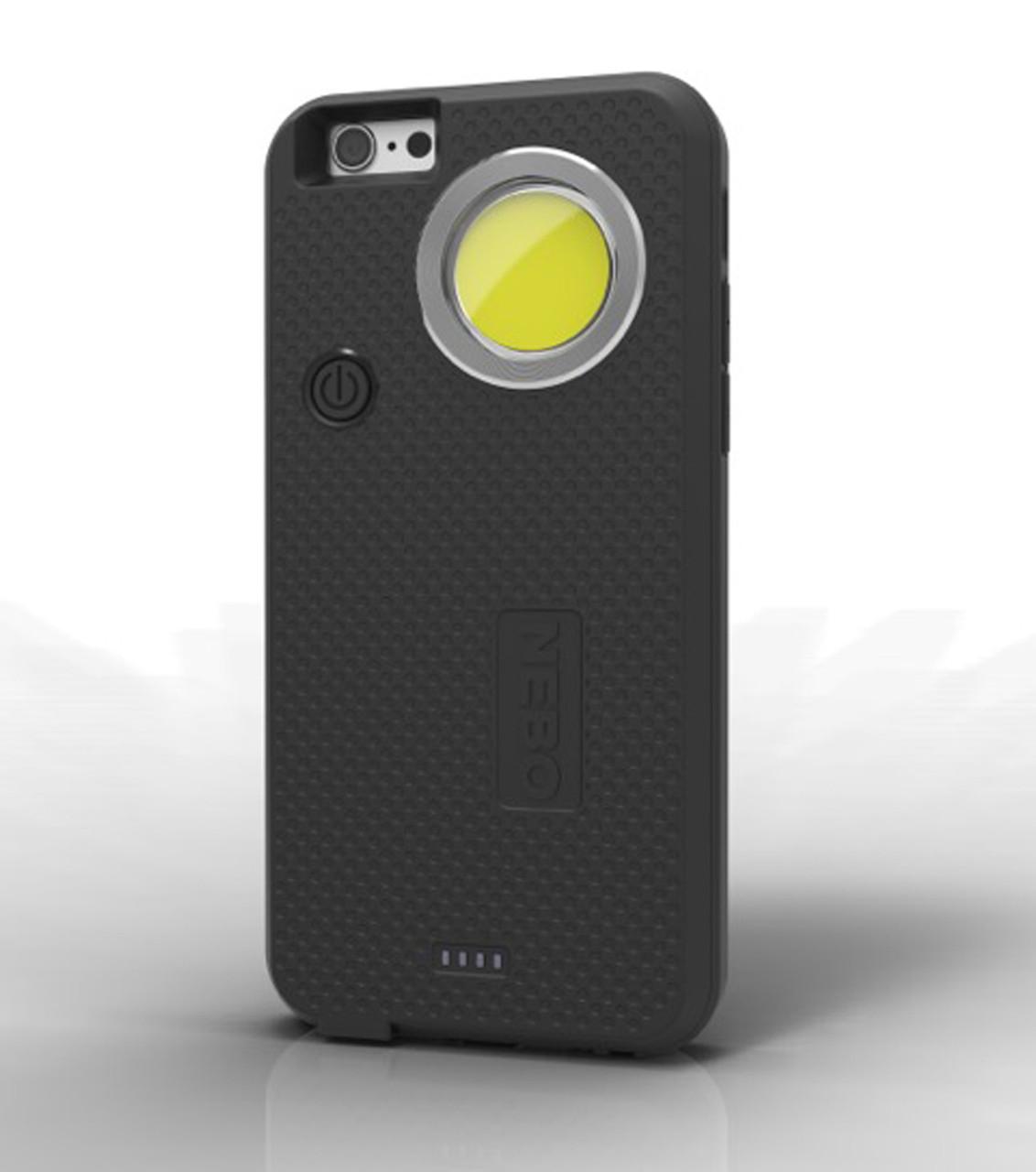 CaseBrite iPhone Case with Super Bright Light (Black)