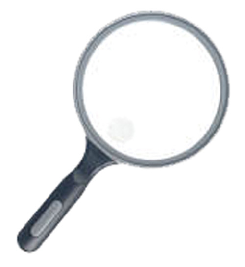2X LED Handheld Magnifier with 6x Bifocal