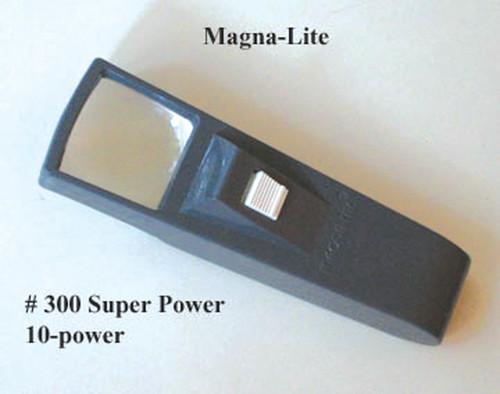 10X MagnaLite Pocket Magnifier