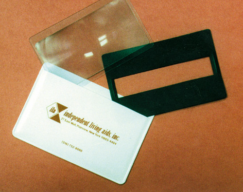 Signature Guide & Magnifier with Sleeve