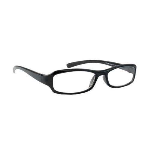`+6.00 Deluxe Reading Glasses W/Black Frame