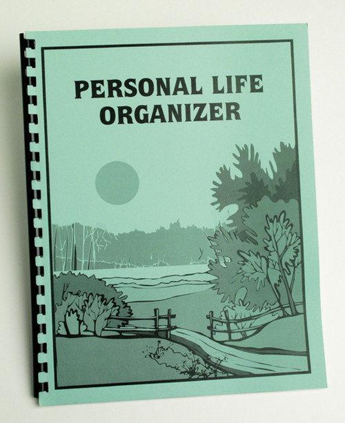 Personal Life Organizer In Large Print