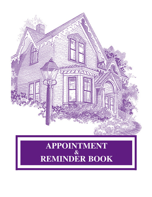 Appointment & Reminder Book, Bold Lines