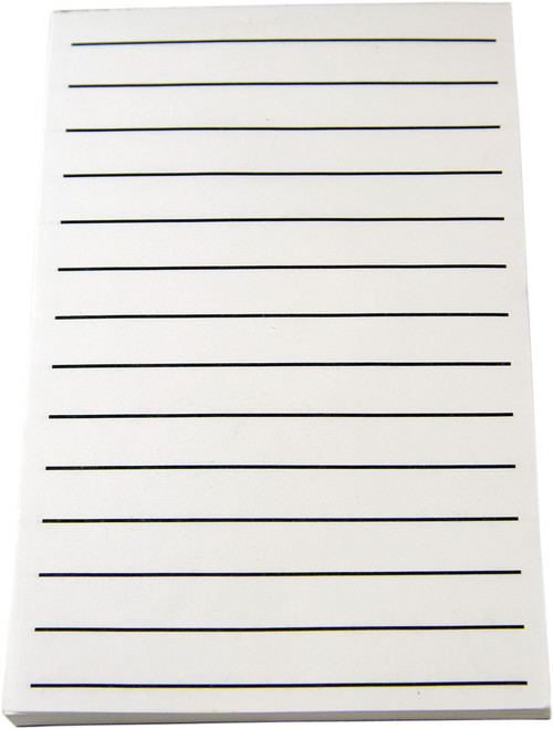 """Bold Line Note Pad 5.5"""" X 8.5"""",  9/16"""" spacing"""