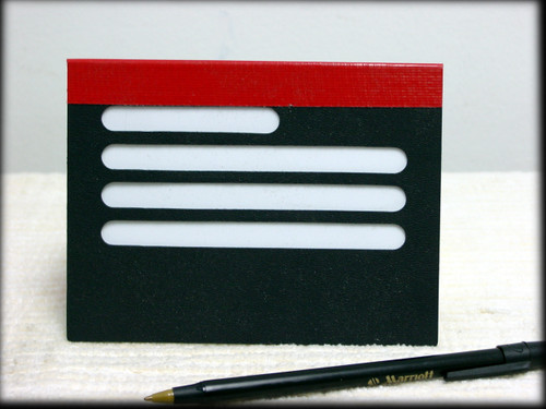 Fold-Over Greeting Card Writing Guide