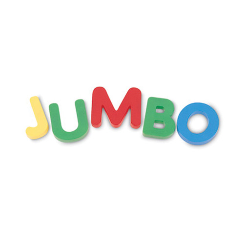 Jumbo Magnetic Letters, Set of 40