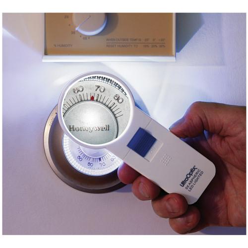 5X LED Pocket Magnifier