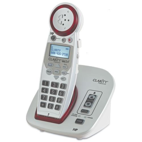 Clarity Pro XLC3.4 Cordless Amplified Talking Phone, model 812521