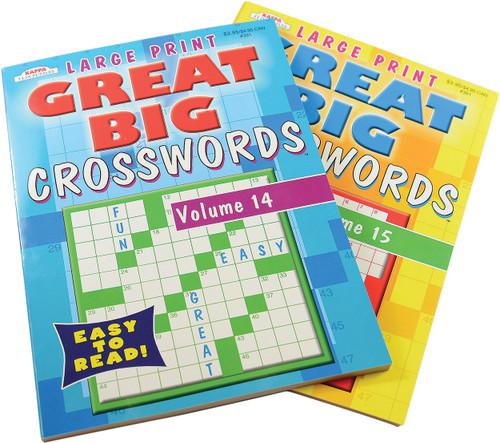 Large Print Crossword Books