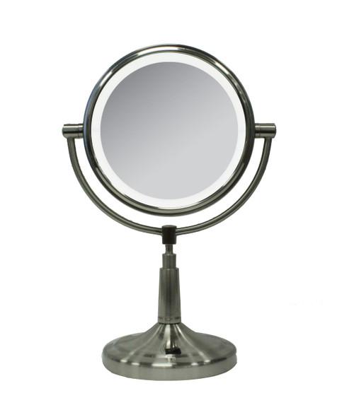 "5X/1X Cordless LED 7"" Mirror"