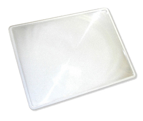 """2X Full Page Unframed Magnifier, 7"""" x 11"""""""