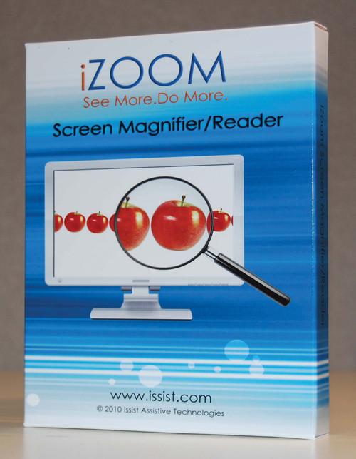 iZoom Magnifier/Reader on CD
