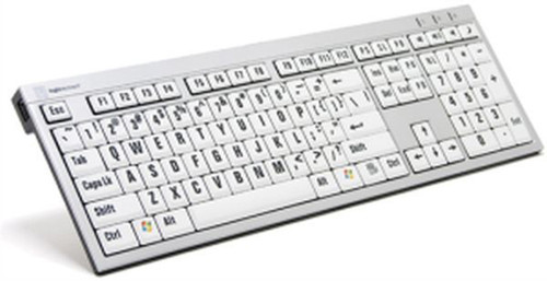 LogicKeys L. P. Slim Line PC Keyboard