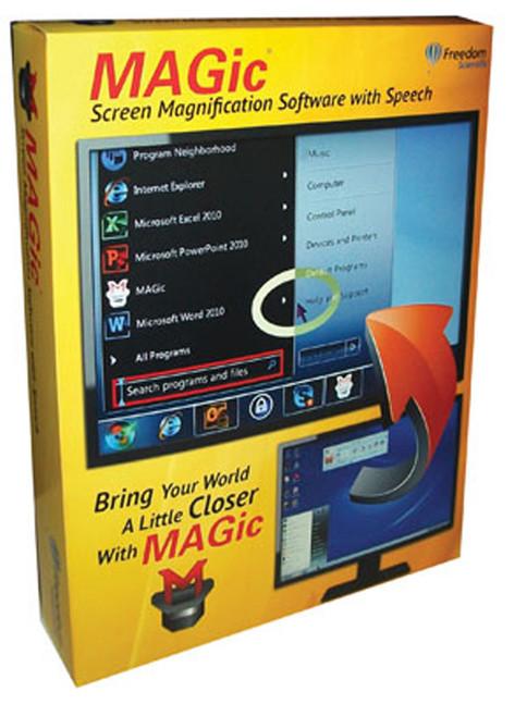 MAGic w/ Speech Screen Magnification Software