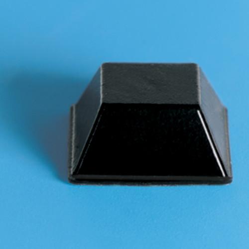 20 Large Black Square Bump-Ons