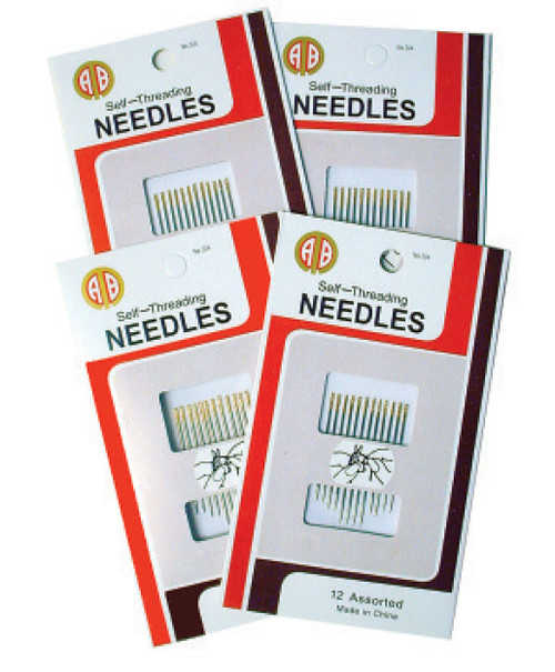 Self Threading Sewing Machine Needles # 90 (5pk)