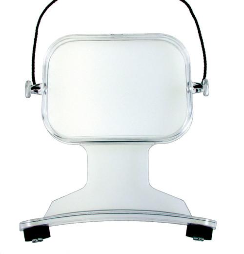 2X Around-the-Neck Magnifier Rectangular With 6X Bifocal