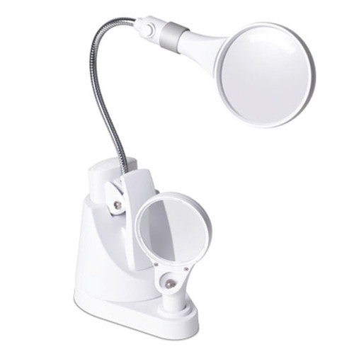 3X OttLite - LED Clip-on and Freestanding Magnifier