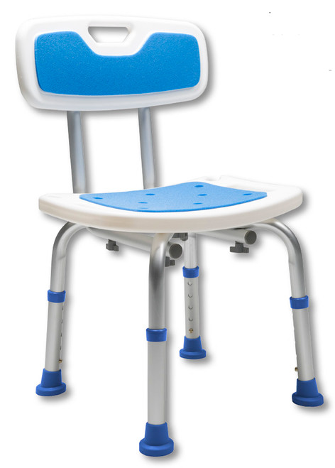 Padded Bath Safety Seat with Backrest