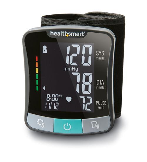 Talking Bilingual Premium Digital Blood Pressure Wrist Monitor-English/Spanish (Non-Returnable)