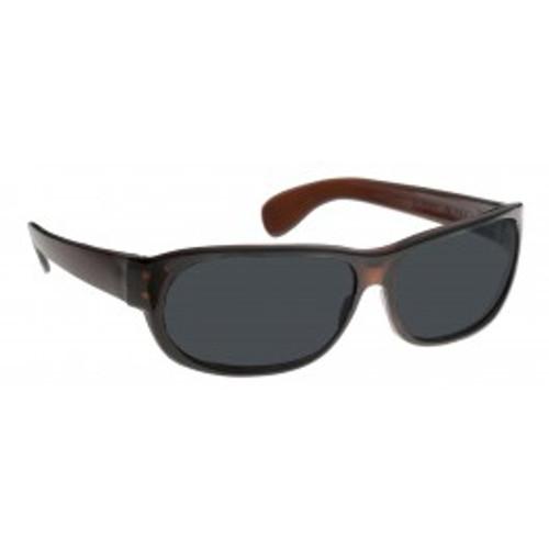 NoIR 11% Dark Gray Retro Wrap Around Sunglasses