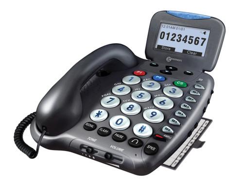 Geemarc Ampli550 Amplified SpeakerPhone W/Caller ID  50 dB