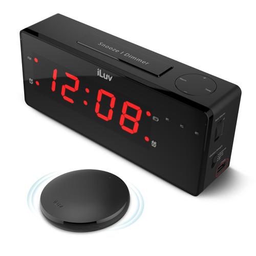 TimeShaker Alarm Clock with Wireless Bedshaker