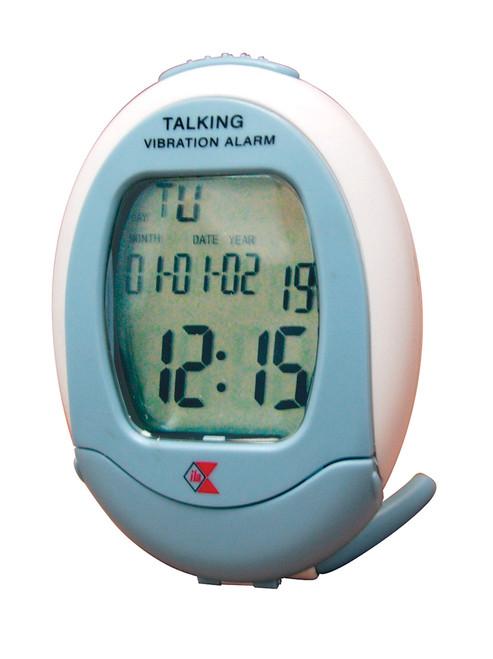 ILA Talking & Vibrating Travel  Alarm Clock