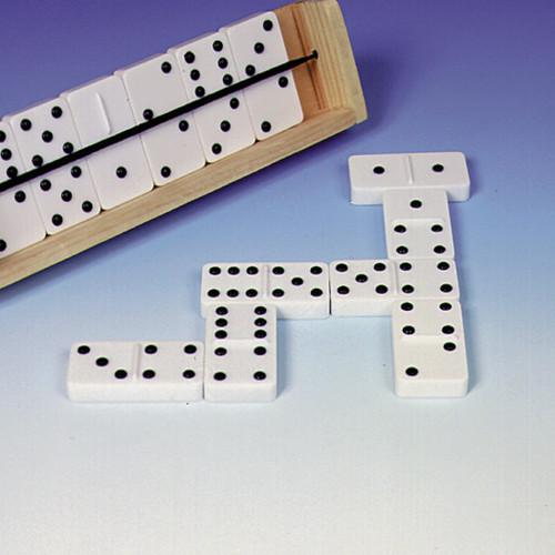Jumbo Braille Dominoes (Double Six)   (Raised Dots)