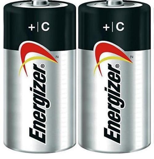 C Alkaline Battery  - 2 Pack