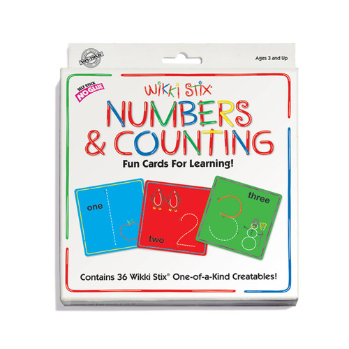 Wikki Stix Numbers & Counting Cards