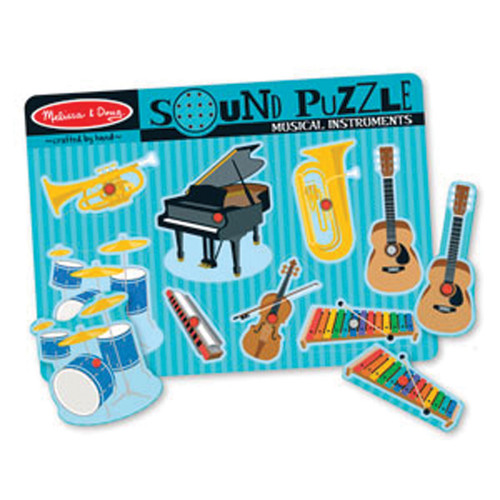 Talking Musical Instruments Sound Puzzle